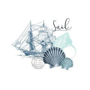Sea Blues 1 by Kimberly Allen