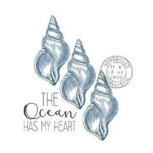 Sea Blues 4 by Kimberly Allen