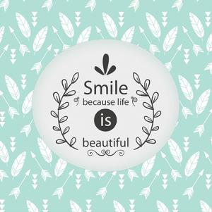 Smile Because by Kimberly Allen