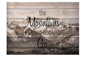 The Mountains are Calling by Kimberly Allen