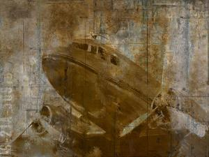 Vintage Airplane by Kimberly Allen