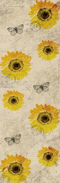 Vintage Sunflowers by Kimberly Allen