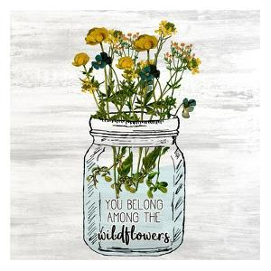 Wildflower Jar 1 by Kimberly Allen