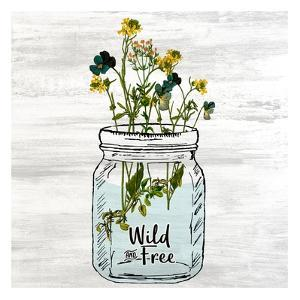 Wildflower Jar 3 by Kimberly Allen