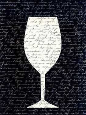 Wine on Black 1 by Kimberly Allen