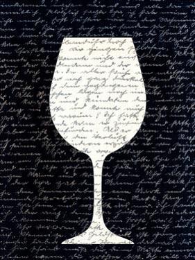 Wine on Black 3 by Kimberly Allen
