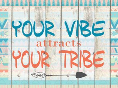 Your Vibe Your Tribe by Kimberly Allen