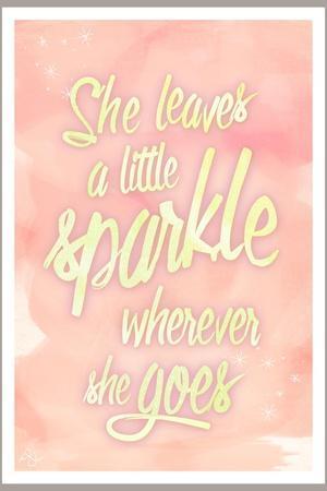 She leaves a sparkle 2