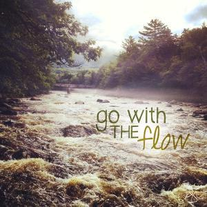 With the Flow by Kimberly Glover