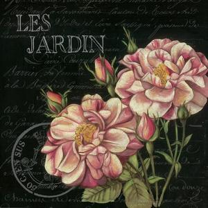 Les Jardin Roses Sq. by Kimberly Poloson