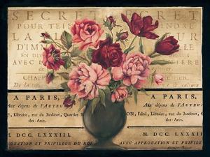 Paris Rose I by Kimberly Poloson