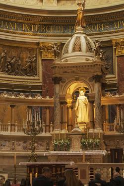 Altar of St. Stephen's Basilica (Szent Istavan Bazilika) Neo-Renassance Church, Budapest, Hungary by Kimberly Walker