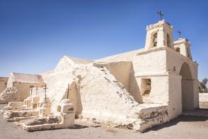 Chile's Oldest Church, Chiu-Chiu Village, Atacama Desert in Northern Chile, South America by Kimberly Walker