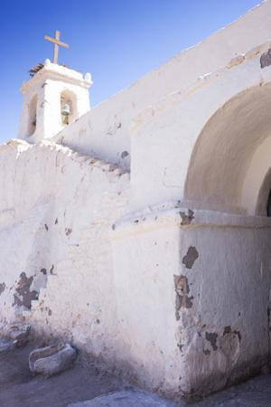 Cropped View of Chile's Oldest Church, Chiu-Chiu Village, Atacama Desert in Northern Chile by Kimberly Walker