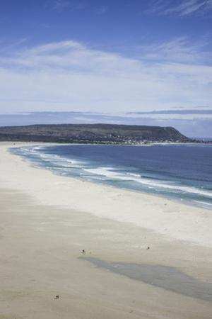 Expansive Stretch of Long Beach with Miniature Sized People, 6Km across Chapman's Bay, Noordhoek by Kimberly Walker