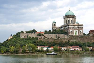 Exterior View of Esztergom Basilica from Danube River by Kimberly Walker