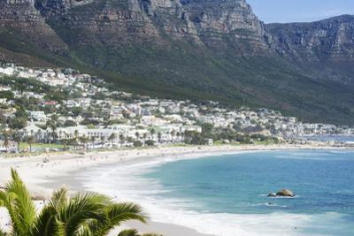Overview of Clifton Beach with Homes and Mountains in the Bay, Cape Peninsula, Cape Town by Kimberly Walker