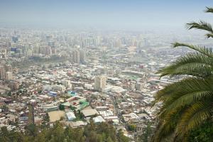 Parque Metropolitano De Santiago, Cerro San Cristobal, Santiago, Chile, South America by Kimberly Walker