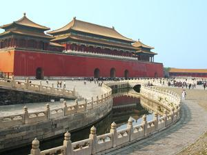 River of Gold, Forbidden City, Beijing, China, Asia by Kimberly Walker