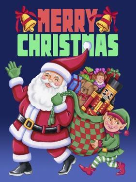 Christmas Santa Elf by Kimura Designs