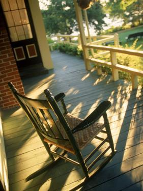 Claremont Hotel Porch, Mt. Desert Island, ME by Kindra Clineff