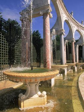 Colonnade, Chateau de Versailles, France by Kindra Clineff