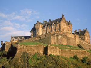 Edinburgh Castle, Edinburgh, Scotland by Kindra Clineff