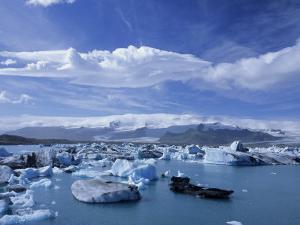 Jokulsarlon, Lagoon of Icebergs, SE Iceland by Kindra Clineff
