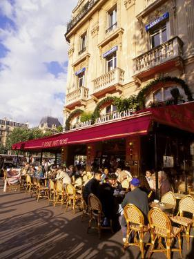 Outdoor Cafe, Paris, France by Kindra Clineff
