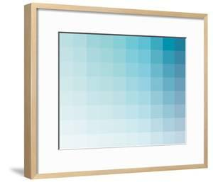 Aqua Rectangle Spectrum by Kindred Sol Collective
