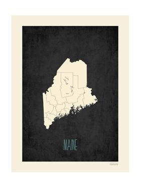 Black Map Maine by Kindred Sol Collective