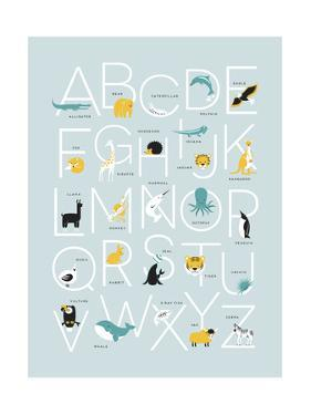 Blue Alphabet by Kindred Sol Collective