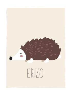 Forest Friends Hedgehog (Spanish) by Kindred Sol Collective