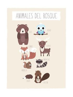 Forest Friends (Spanish) by Kindred Sol Collective