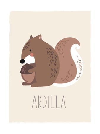 Forest Friends Squirrel (Spanish)