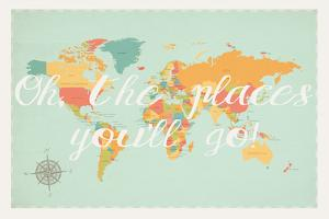 Oh the Places We'll Go in Multi by Kindred Sol Collective