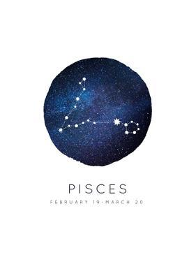 Pisces Zodiac Constellation by Kindred Sol Collective