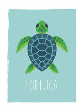 Sea Turtle (Spanish) by Kindred Sol Collective
