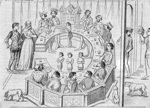King Arthur's Knights of the round Table
