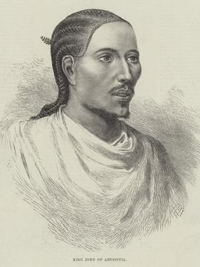King John of Abyssinia