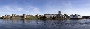 King John's Castle and Riverside Buildings, River Shannon, Limerick City, Ireland