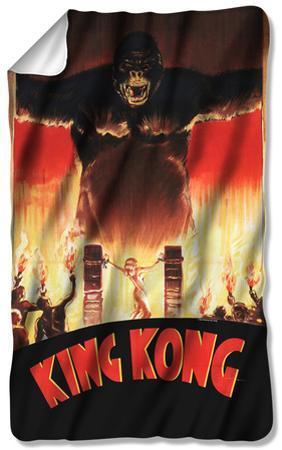 King Kong - At The Gates Fleece Blanket