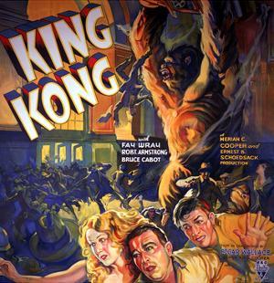 King Kong, Fay Wray, Robert Armstrong, Bruce Cabot, 1933