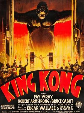 King Kong, (French poster art), 1933