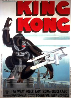 King Kong, French Poster Art, 1933