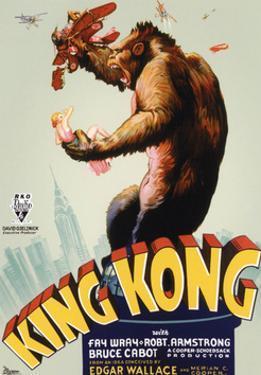 King Kong, King Kong on Poster Art, 1933
