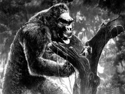 King Kong, Kong with Fay Wray, 1933