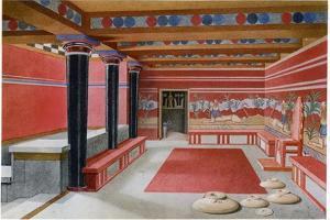 King Minos's Throne Room, Knossos, Crete