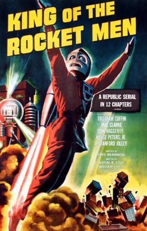 King of the Rocket Men, Tristram Coffin (In the 'Rocket Suit'), 1949