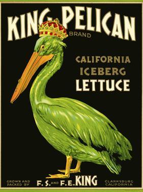 King Pelican Brand Lettuce